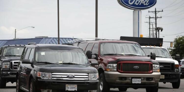 Ford livre des résultats du 1er trimestre inférieurs aux attentes