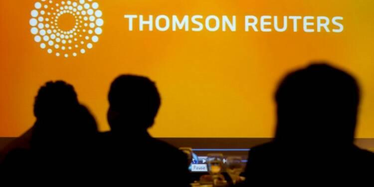 Thomson Reuters présente des résultats supérieurs aux attentes