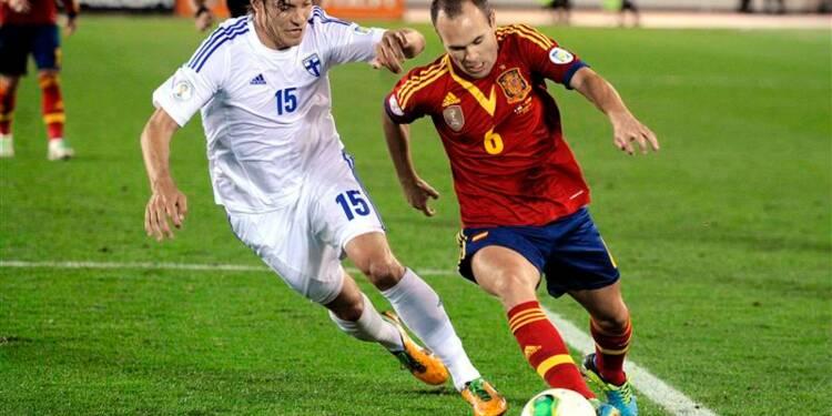 Mondial: l'Espagne et la Belgique tout près, Klose à hauteur