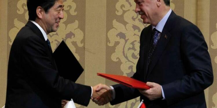 Signature de l'accord nucléaire entre le Japon et la Turquie