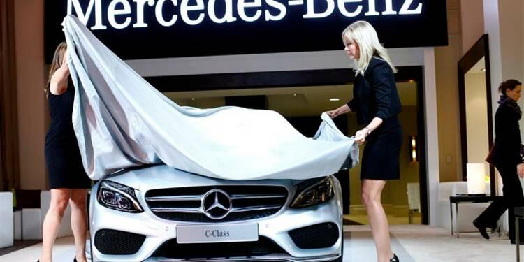 Daimler dopé par les marges chez Mercedes au 4e trimestre