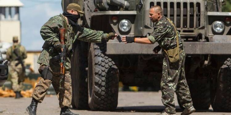 Moscou et Kiev travaillent à un cessez-le-feu en Ukraine