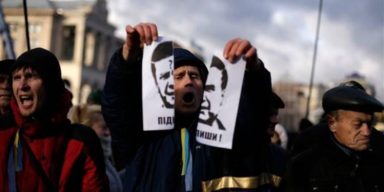 Pas de signature d'accord entre l'Ukraine et l'Union européenne à Vilnius