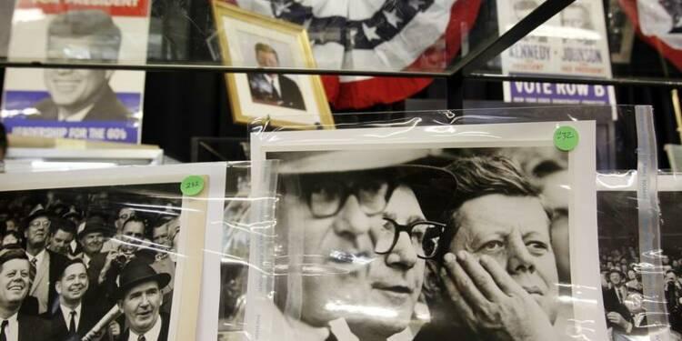 Des objets personnels liés à John Kennedy vendus aux enchères