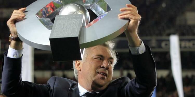 Ligue 1: Carlo Ancelotti veut mettre fin à l'aventure PSG