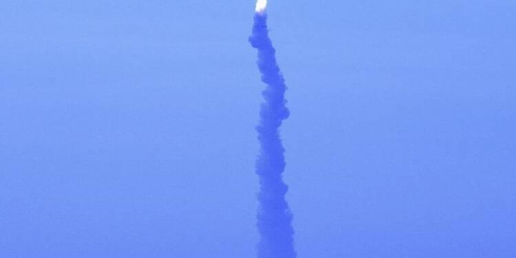 Un missile M51 s'auto-détruit après son lancement