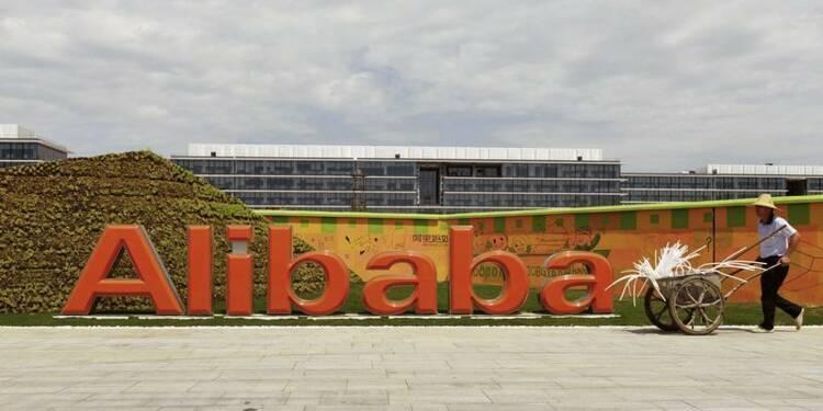 Alibaba valorisé 128 milliards sur la base d'une cession de titres