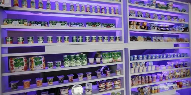 Danone ferme trois usines de produits laitiers en Europe