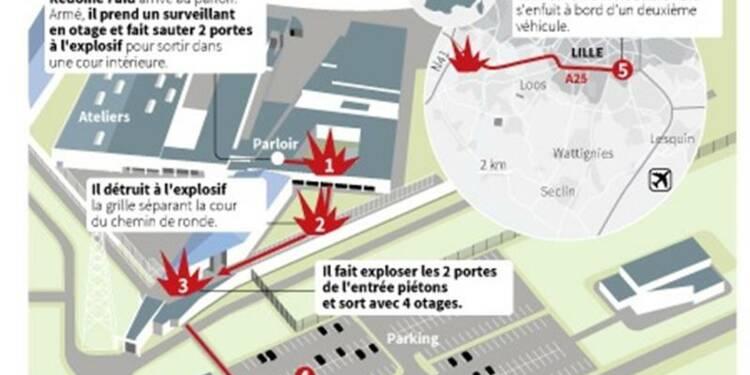 Manuel Valls reconnaît une faille dans l'évasion de Redoine Faïd