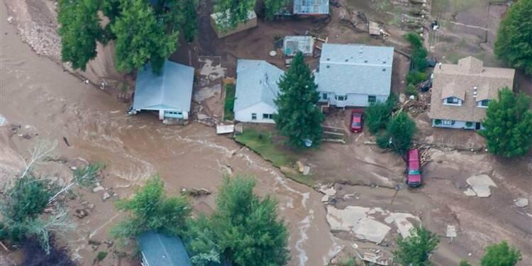 Les inondations dans le Colorado ont détruit 1.500 habitations