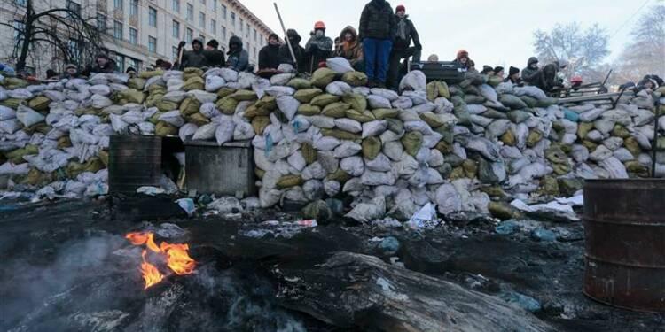 Nouveaux accrochages dans le centre de Kiev