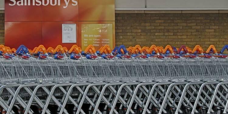 Hausse inattendue des ventes trimestrielles de Sainsbury