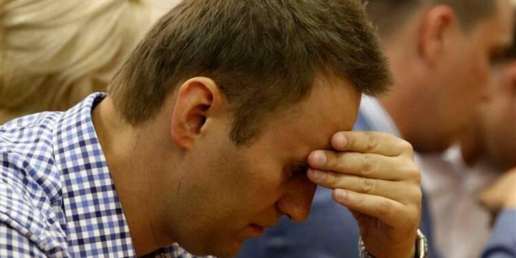 L'opposant russe Alexeï Navalny condamné à cinq ans de prison