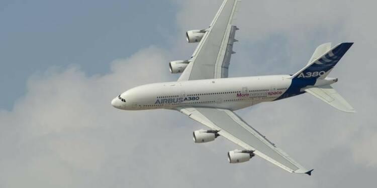 Airbus va accentuer l'inspection des poutres d'ailes de l'A380