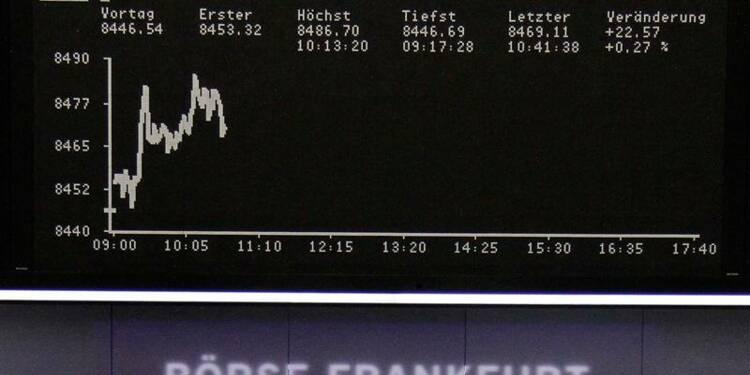 Les Bourses européennes indécises à la mi-séance