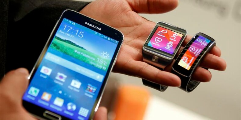 Samsung dévoile le Galaxy S5 et des objets connectés