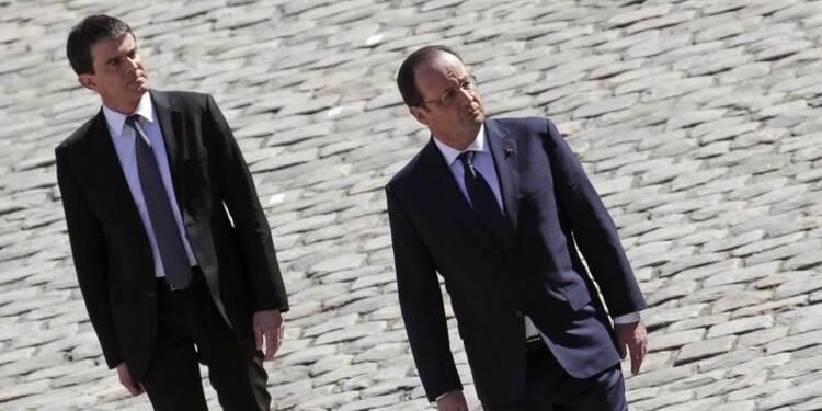 Hollande et Valls au défi du rebond post-européennes