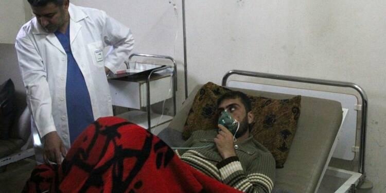 Les Etats-Unis soupçonnent un recours au gaz chimique en Syrie