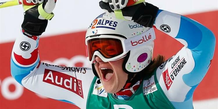 Ski: Marion Rolland sacrée championne du monde de descente