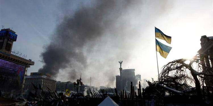 Des opposants ukrainiens ont investi le ministère de l'Energie