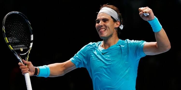 Tennis: Nadal bat Wawrinka et s'assure de la 1ère place mondiale