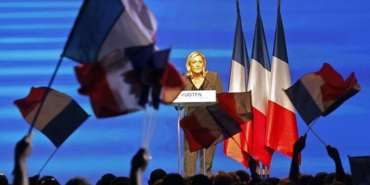 Marine Le Pen en guerre contre l'étiquette d'extrême droite