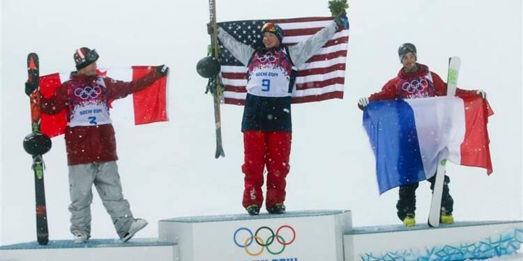 JO: le Français Kevin Rolland médaillé de bronze en ski halfpipe
