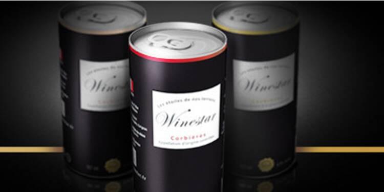 Winestar, la start-up qui veut nous faire boire du vin en canettes