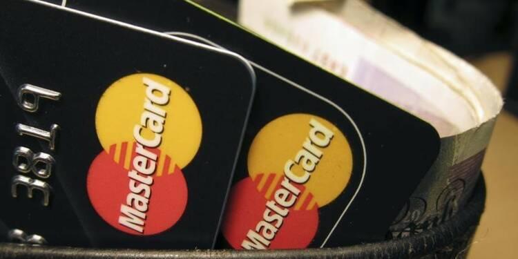 Les résultats de MasterCard légèrement supérieurs aux attentes