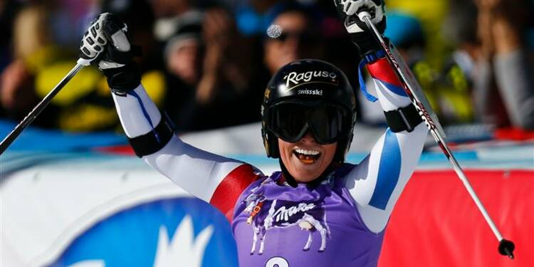 Ski: la Suissesse Lara Gut remporte le géant de Sölden