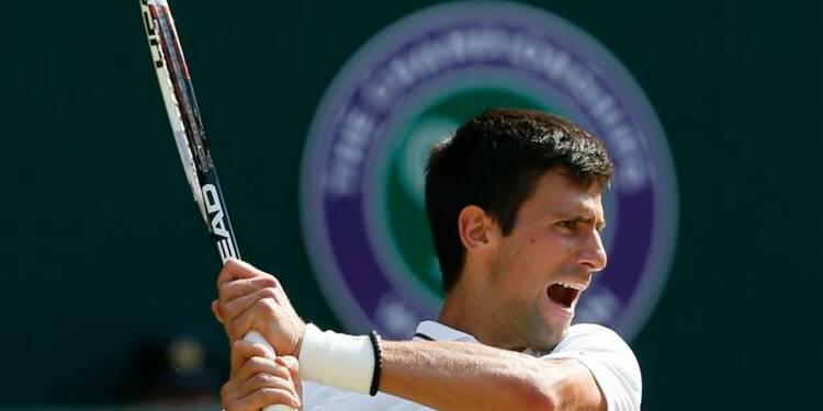 Wimbledon: Novak Djokovic qualifié pour la finale