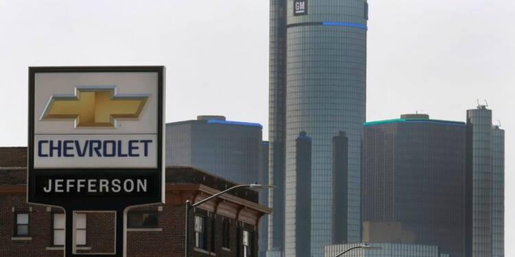 Le bénéfice de GM en baisse au 1er trimestre à cause des rappels