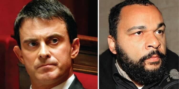 """Manuel Valls veut agir vite contre l'""""antisémite"""" Dieudonné"""