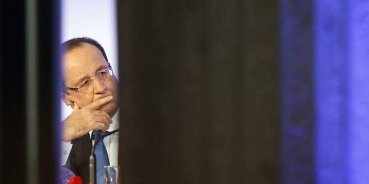 Impopularité record pour Hollande dans le baromètre CSA