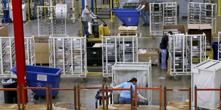 L'activité manufacturière ralentit plus que prévu aux Etats-Unis