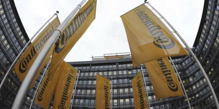 Continental prévoit un CA en hausse au T1 malgré les changes