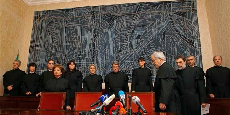 Rejet d'une partie des mesures d'austérité au Portugal