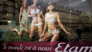 Etam Lingerie   la nouvelle reine de la lingerie française 200552a7363
