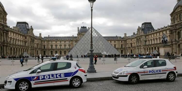 Renforts policiers au Louvre contre les vols à la tire