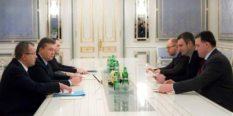 Ianoukovitch serait prêt à laisser l'opposition gouverner