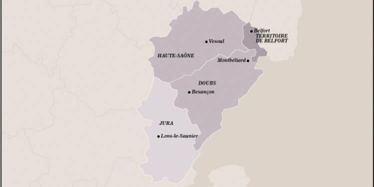 Franche-Comté (16ème) : touchée de plein fouet par la crise de l'automobile