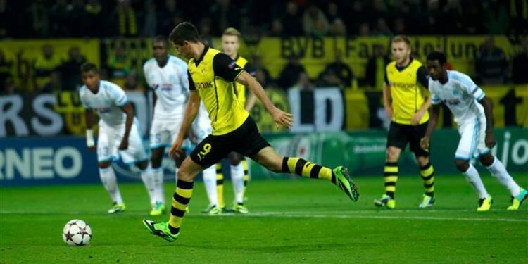 Ligue des champions: l'OM perd 3-0 contre le Borussia Dortmund