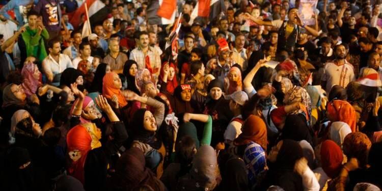La démocratie est en danger en Egypte, dit Mohamed Morsi