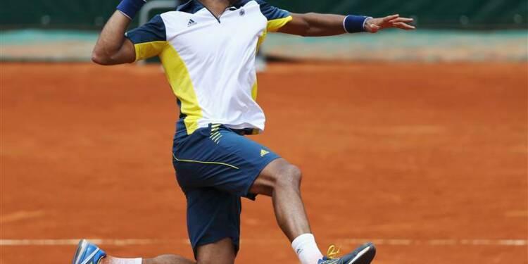 Roland-Garros: 1er tour facile pour Jo-Wilfried Tsonga