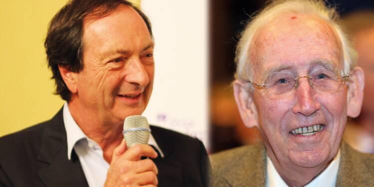 En vidéo : le show hilarant de Gérard Mulliez (Auchan) devant Michel-Edouard Leclerc