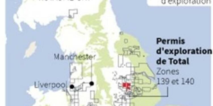 Total investit dans le gaz de schiste britannique