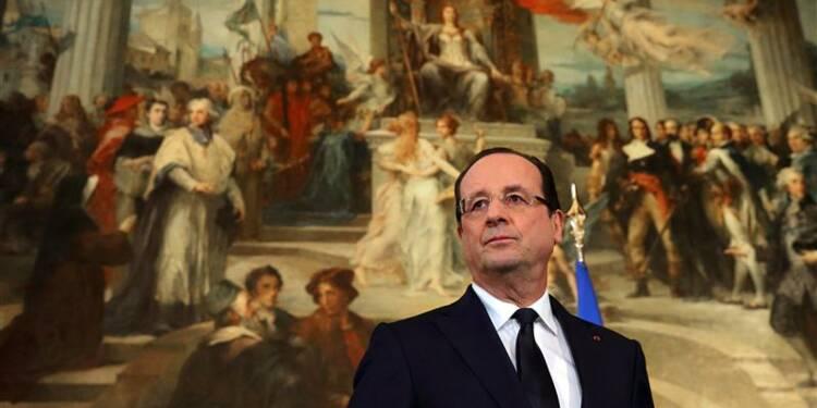 Hollande vise un déficit inférieur à 3,7% du PIB en fin d'année