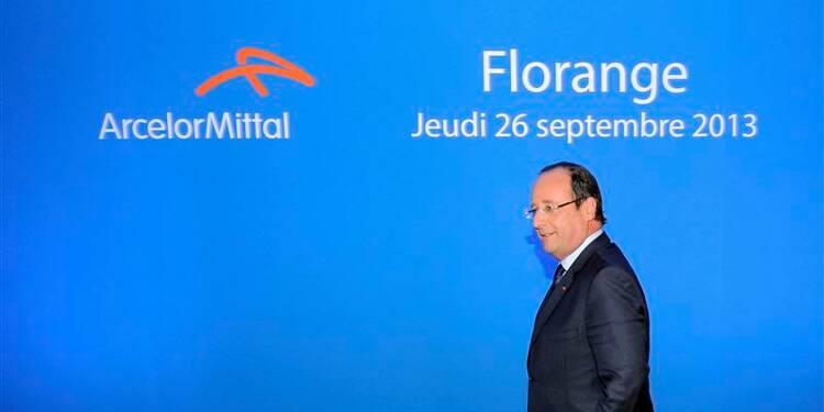 Retour risqué pour François Hollande à Florange