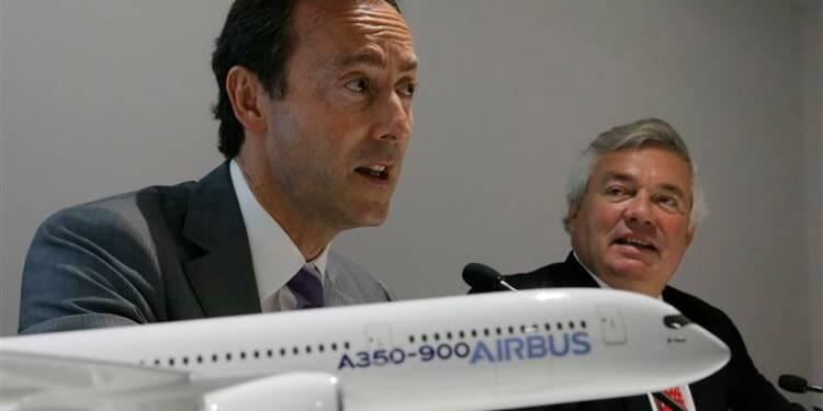 Près de 40 milliards de dollars de commandes fermes pour Airbus