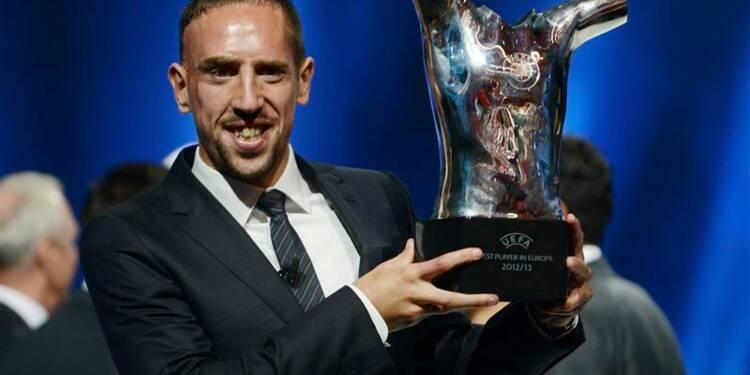 Football: Ribéry élu meilleur joueur d'Europe de la saison